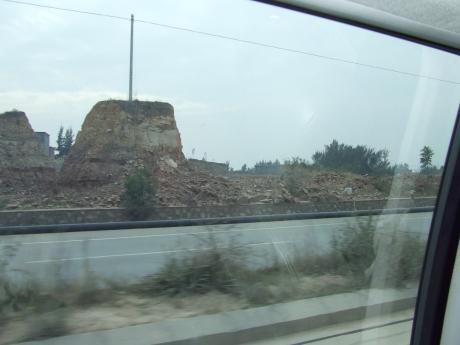 Karst Landscape destruction 4 - Dec 2009