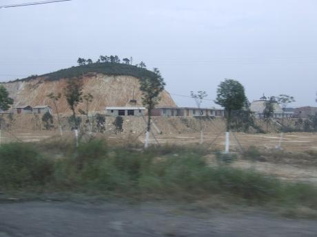Karst Landscape destruction 3 - Dec 2009