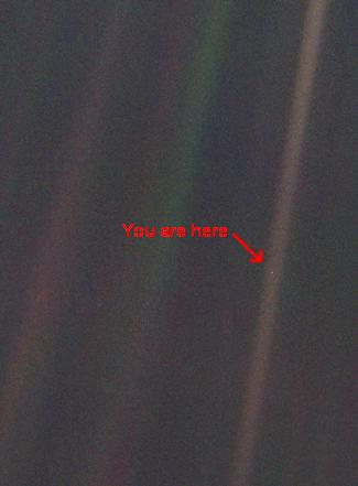Planet Earth - The Pale Blue Dot